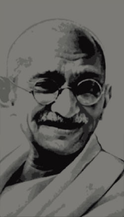 Portrait Mohandas Karamchand GANDHI
