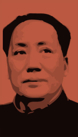 Portrait Mao ZEDONG