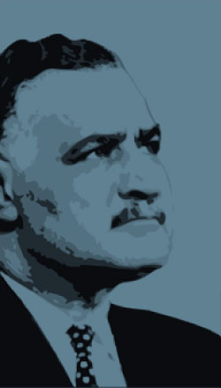 Portrait Gamal Abdel NASSER